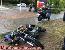 Suite de l'accident de dimanche après-midi, avenue des Alouettes..
