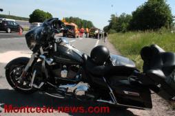Faits divers – Un motard percute l'arrière d'une voiture (Blanzy)