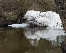 Réactualisé à 18 h 55 - Environnement – A Saint-Vallier au pont du Galuzot...