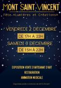 2ème Fête « Lumières et Créations » (Mont-Saint-Vincent)