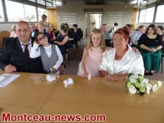 Double cérémonie à Blanzy