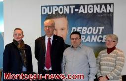 Montceau-les-Mines : Debout la France et Lilian Noirot