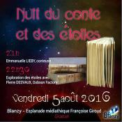 Nuit du Conte et des étoiles (Blanzy)
