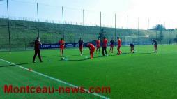 Score final   - CFA - OL B : 2 - FCMB : 0