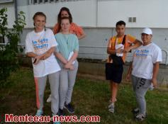 Saint-Vallier  : Chantier Jeunes OPAC