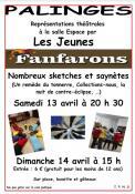 Théâtre « Les Fanfarons » (Palinges)