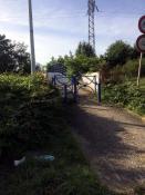Passerelle de la Sablière (Montceau)