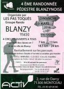 """""""Les Pas Toqués"""" de Blanzy (Randonnée)"""
