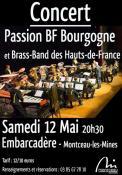 Le Hauts-de-France Brass Band en concert à Montceau les Mines!
