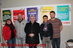 Politique – Le parti communiste présente ses candidats aux législatives en Saône-et-Loire