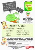 Vente solidaire de légumes organisée par la section PCF du Bassin Minier