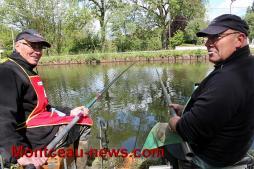 Concours de pêche à l'américaine à Ciry-le-Noble
