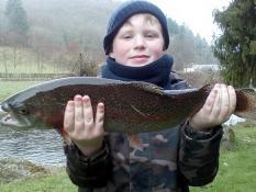 Jeune mais très talentueux pêcheur...