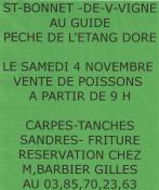 Pêche de l'étang Doré (Saint-Bonnet-de-Vieille-Vigne)