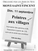 RAPPEL : « Peintres au village » (Mont-Saint-Vincent)