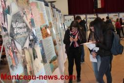 Exposition sur la guerre d'Algérie à la salle des fêtes de Perrecy-les-Forges