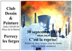 Club et dessin et peinture à Perrecy-les-Forges