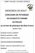Saint Vallier  Les amis des Bois Francs