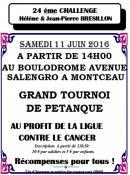 Ligue Contre Le Cancer : Challenge Hélène et Jean-Pierre Brésillon
