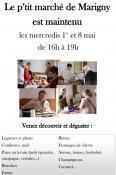 Maintien des petits marchés de Marigny (Sortir)