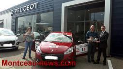 Peugeot Nomblot et Rallye des Gueules Noires 2016