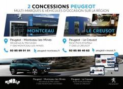 « Peugeot Nomblot » au Creusot et à Montceau