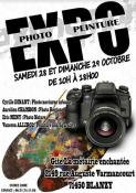 Exposition photo peinture (Blanzy)