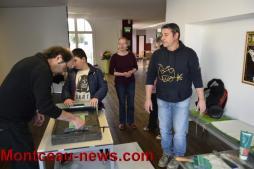 Médiathèque et Atelier du Coin : printemps des poètes (Montceau)