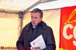 Nicolas Dupont-Aignan, Président de Debout La France, à Montceau (Politique)