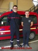 Sapeurs pompiers (Blanzy)