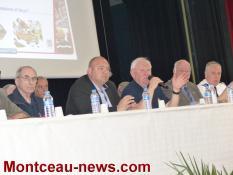 Blanzy :  Anciens sapeurs-pompiers du département