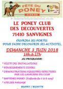Poney-Club des Découvertes de Sanvignes (Sortir)