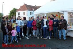 Fête des voisins, au bourg (Pouilloux)