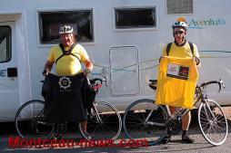 Bienheureux ces retraités à Pouilloux, ils ont quitté la commune pour Angers à vélo