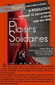 Cabaret des plaisirs solidaires à Pouilloux
