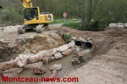 Environnement – Un nouveau pont détruit sur la commune de Pouilloux