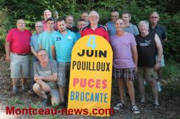 Dimanche 4 juin 2017, brocante et puces à Pouilloux
