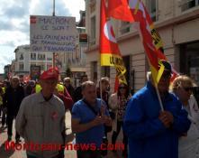 Réactualisé à 19 h 55 - Social - journée de mobilisation du 12 septembre à Montceau...