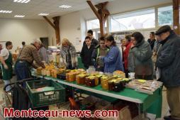 Premier marché des producteurs de pays à Essertenne