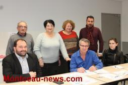 Dimanche 22 janvier 2017, premier tour des primaires citoyennes à Saint-Vallier
