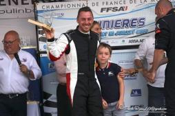 Sport auto - Il est sur la seconde marche du championnat de France de la spécialité (pour l'instant)