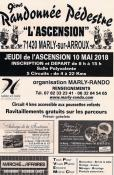 9ème randonnée de l'Ascension à Marly/Arroux
