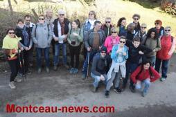 Randonnée à la croix Racot à Saint-Vallier