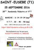 28ème randonnée pédestre et VTT (Saint-Eusèbe)