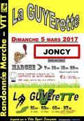 """Marche randonnée VTT """"La Guyerette"""""""