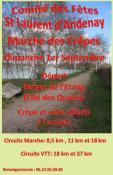 """Saint Laurent d'Andenay : """"Marches Crêpes"""""""