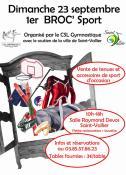 Saint-Vallier : CSL Gym (Sortir)