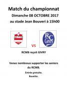 RAPPEL : Rugby Club Montceau-Bourgogne
