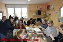 L'IME de Saint Vallier et la régie de quartier partagent leurs activités ludiques (Montceau)