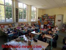 Rentrée scolaire (Toulon sur Arroux)